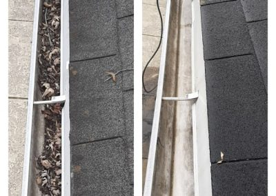 Gutter Cleaned from Debris